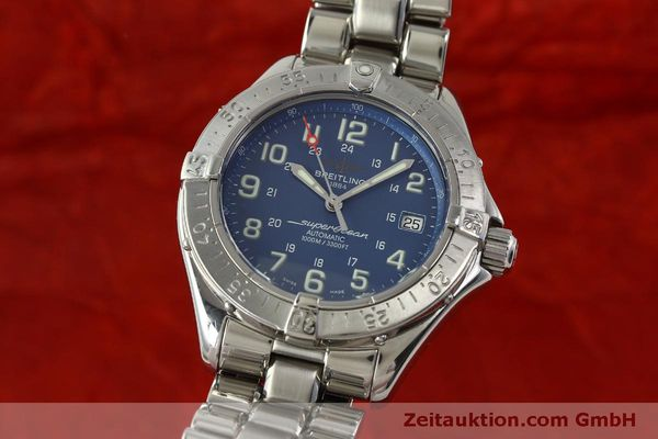 Used luxury watch Breitling Superocean steel automatic Kal. B17 ETA 2824-2 Ref. A17340  | 150449 04