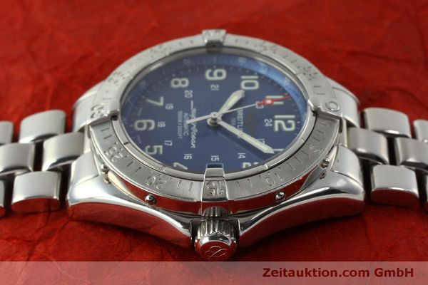 Used luxury watch Breitling Superocean steel automatic Kal. B17 ETA 2824-2 Ref. A17340  | 150449 05