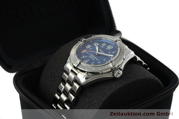 Used luxury watch Breitling Superocean steel automatic Kal. B17 ETA 2824-2 Ref. A17340  | 150449 07