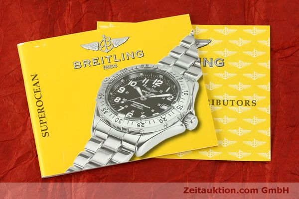 Used luxury watch Breitling Superocean steel automatic Kal. B17 ETA 2824-2 Ref. A17340  | 150449 13