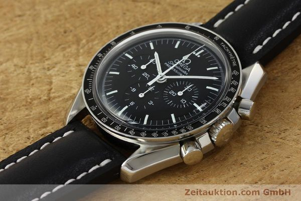 Used luxury watch Omega Speedmaster chronograph steel manual winding Kal. 1861  | 150453 01