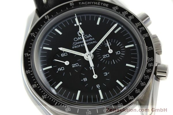 Used luxury watch Omega Speedmaster chronograph steel manual winding Kal. 1861  | 150453 02