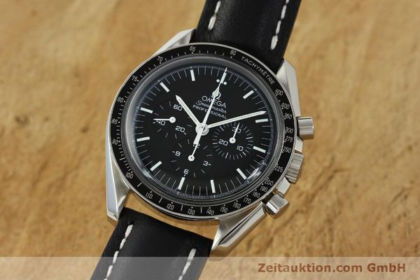 Used luxury watch Omega Speedmaster chronograph steel manual winding Kal. 1861  | 150453 04