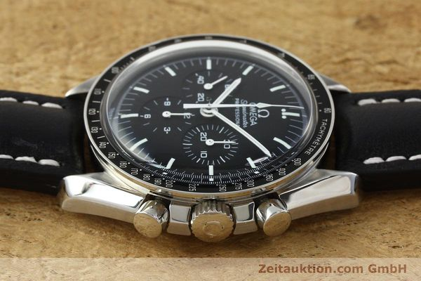 Used luxury watch Omega Speedmaster chronograph steel manual winding Kal. 1861  | 150453 05