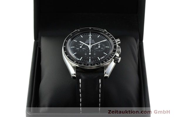 Used luxury watch Omega Speedmaster chronograph steel manual winding Kal. 1861  | 150453 07