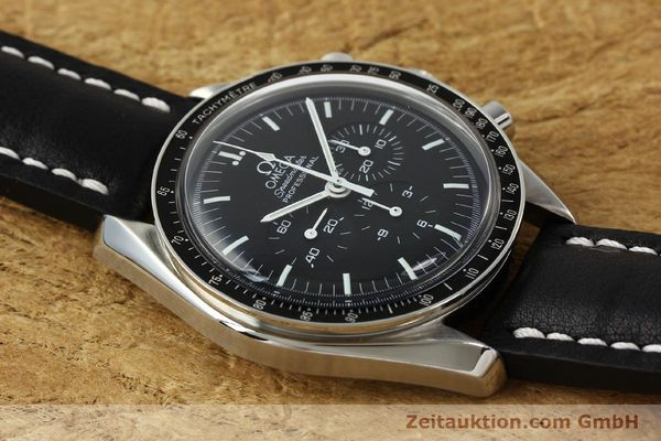 Used luxury watch Omega Speedmaster chronograph steel manual winding Kal. 1861  | 150453 14