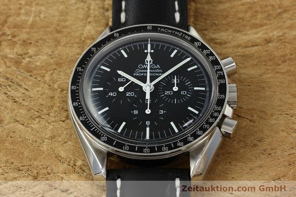 Used luxury watch Omega Speedmaster chronograph steel manual winding Kal. 1861  | 150453 15