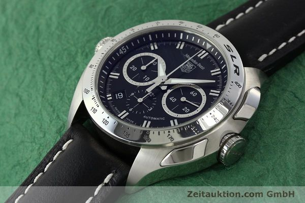 Used luxury watch Tag Heuer SLR chronograph steel automatic Kal. 17 ETA 2894-2 Ref. CAG2110 LIMITED EDITION | 150460 01