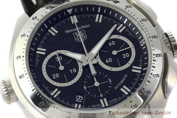 Used luxury watch Tag Heuer SLR chronograph steel automatic Kal. 17 ETA 2894-2 Ref. CAG2110 LIMITED EDITION | 150460 02