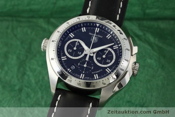 Used luxury watch Tag Heuer SLR chronograph steel automatic Kal. 17 ETA 2894-2 Ref. CAG2110 LIMITED EDITION | 150460 04
