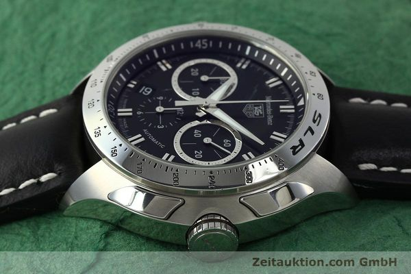 Used luxury watch Tag Heuer SLR chronograph steel automatic Kal. 17 ETA 2894-2 Ref. CAG2110 LIMITED EDITION | 150460 05