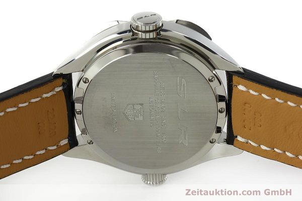 Used luxury watch Tag Heuer SLR chronograph steel automatic Kal. 17 ETA 2894-2 Ref. CAG2110 LIMITED EDITION | 150460 09