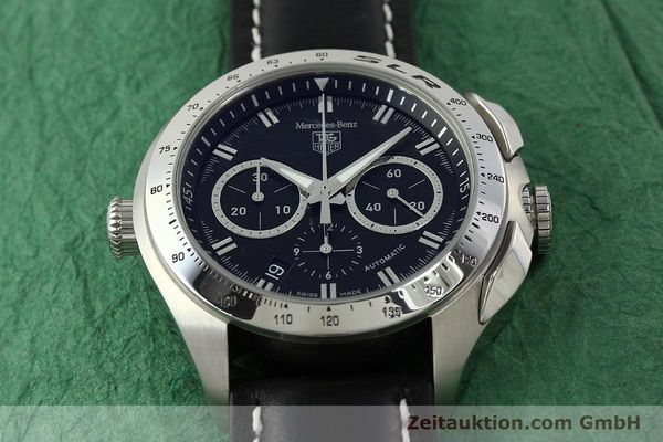 Used luxury watch Tag Heuer SLR chronograph steel automatic Kal. 17 ETA 2894-2 Ref. CAG2110 LIMITED EDITION | 150460 16