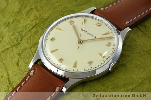 Used luxury watch Jaeger Le Coultre * steel manual winding Kal. P478/C  | 150462 01