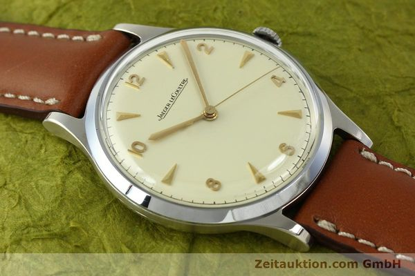 Used luxury watch Jaeger Le Coultre * steel manual winding Kal. P478/C  | 150462 13