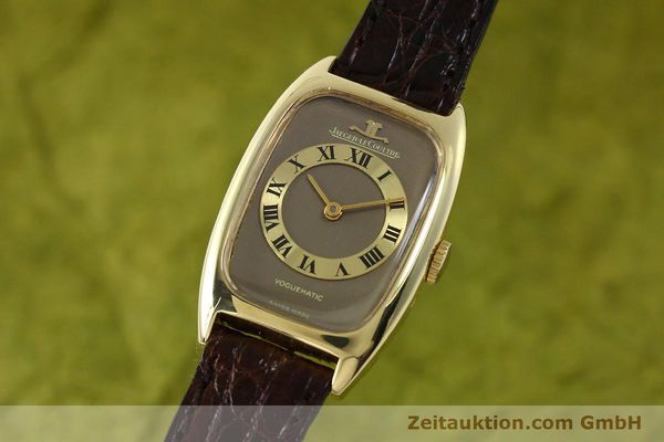 montre de luxe d occasion Jaeger Le Coultre Voguematic or 18 ct automatique Kal. 832/1 Ref. 22010  | 150464 04