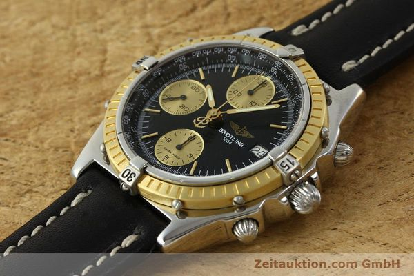 Used luxury watch Breitling Chronomat chronograph steel / gold automatic Kal. B13 ETA 7750 Ref. D13047  | 150467 01