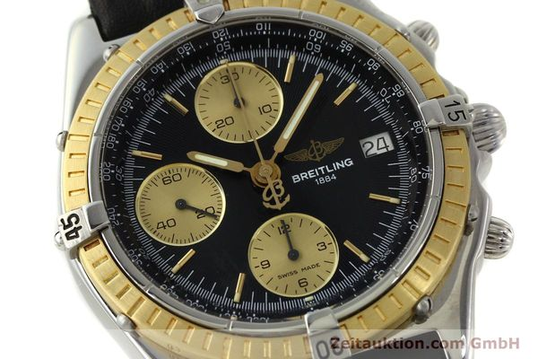 Used luxury watch Breitling Chronomat chronograph steel / gold automatic Kal. B13 ETA 7750 Ref. D13047  | 150467 02