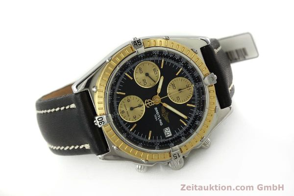 Used luxury watch Breitling Chronomat chronograph steel / gold automatic Kal. B13 ETA 7750 Ref. D13047  | 150467 03
