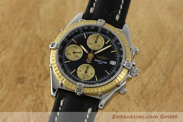 Used luxury watch Breitling Chronomat chronograph steel / gold automatic Kal. B13 ETA 7750 Ref. D13047  | 150467 04