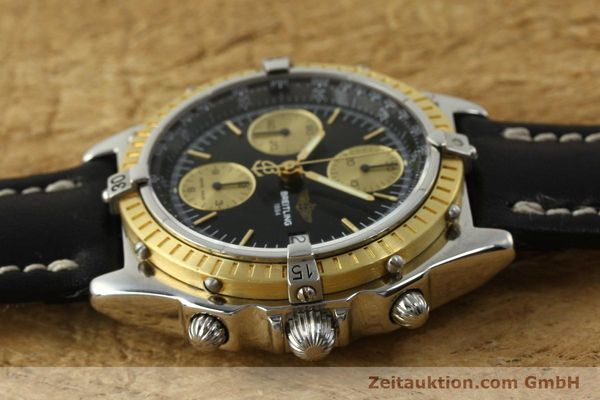 Used luxury watch Breitling Chronomat chronograph steel / gold automatic Kal. B13 ETA 7750 Ref. D13047  | 150467 05