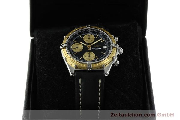 Used luxury watch Breitling Chronomat chronograph steel / gold automatic Kal. B13 ETA 7750 Ref. D13047  | 150467 07