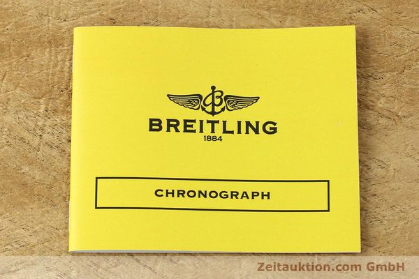 Used luxury watch Breitling Chronomat chronograph steel / gold automatic Kal. B13 ETA 7750 Ref. D13047  | 150467 11