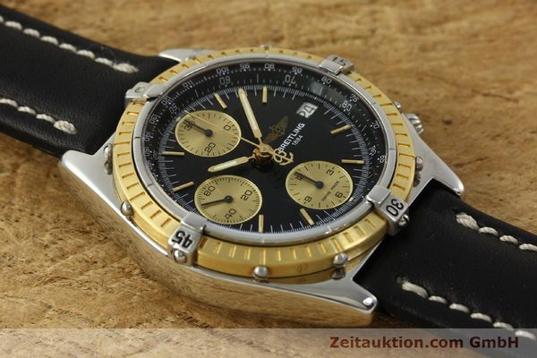 Used luxury watch Breitling Chronomat chronograph steel / gold automatic Kal. B13 ETA 7750 Ref. D13047  | 150467 14