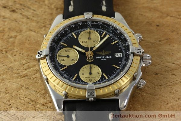 Used luxury watch Breitling Chronomat chronograph steel / gold automatic Kal. B13 ETA 7750 Ref. D13047  | 150467 15