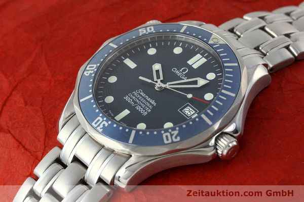 Used luxury watch Omega Seamaster steel automatic Kal. 1120 Ref. 25318000  | 150472 01