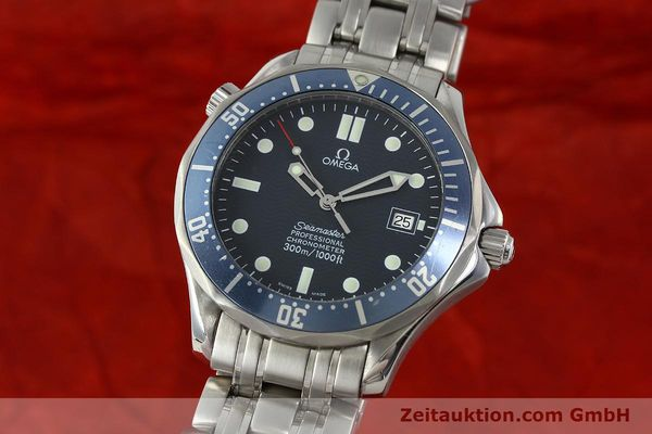 Used luxury watch Omega Seamaster steel automatic Kal. 1120 Ref. 25318000  | 150472 04