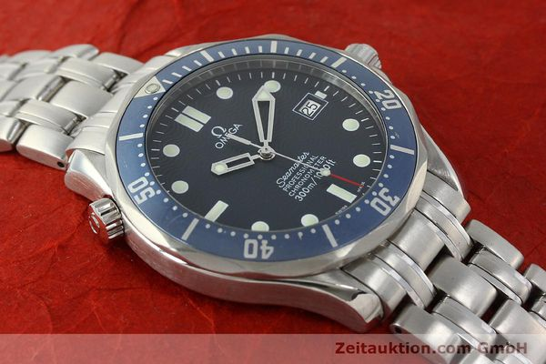 Used luxury watch Omega Seamaster steel automatic Kal. 1120 Ref. 25318000  | 150472 18