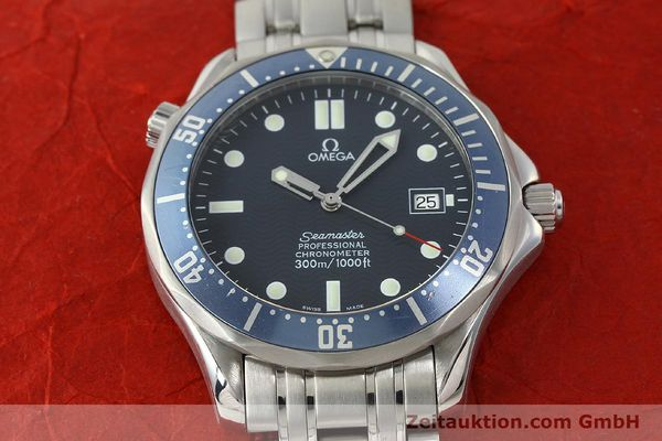 Used luxury watch Omega Seamaster steel automatic Kal. 1120 Ref. 25318000  | 150472 19