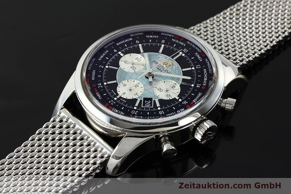 Used luxury watch Breitling Transocean chronograph steel automatic Kal. B05 Ref. AB0510  | 150483 01