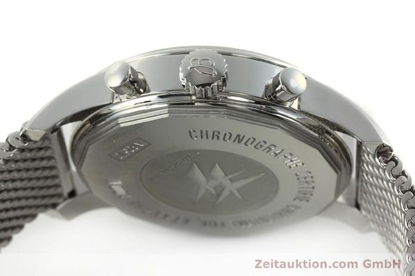 Used luxury watch Breitling Transocean chronograph steel automatic Kal. B05 Ref. AB0510  | 150483 11