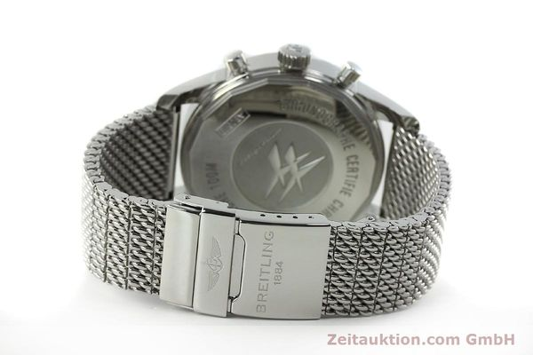 Used luxury watch Breitling Transocean chronograph steel automatic Kal. B05 Ref. AB0510  | 150483 12