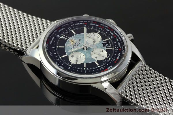 Used luxury watch Breitling Transocean chronograph steel automatic Kal. B05 Ref. AB0510  | 150483 17