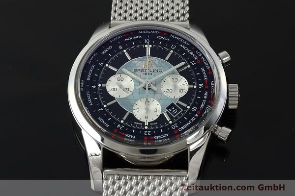 Used luxury watch Breitling Transocean chronograph steel automatic Kal. B05 Ref. AB0510  | 150483 18