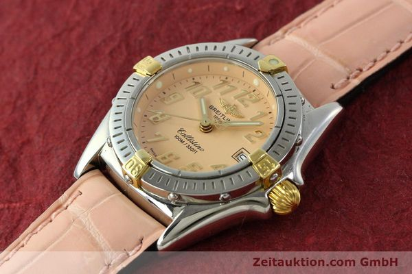 Used luxury watch Breitling Callistino steel / gold quartz Kal. B52 Ref. B52345  | 150496 01
