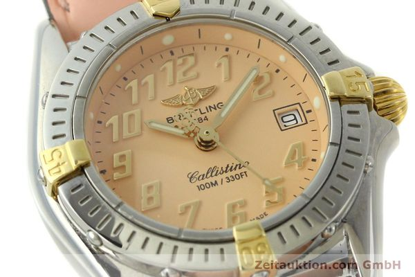 Used luxury watch Breitling Callistino steel / gold quartz Kal. B52 Ref. B52345  | 150496 02