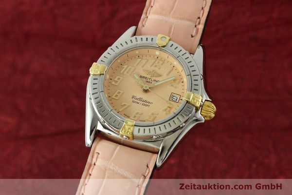 Used luxury watch Breitling Callistino steel / gold quartz Kal. B52 Ref. B52345  | 150496 04