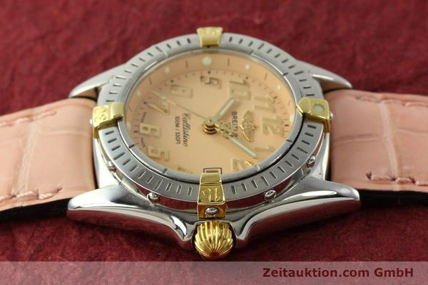 Used luxury watch Breitling Callistino steel / gold quartz Kal. B52 Ref. B52345  | 150496 05
