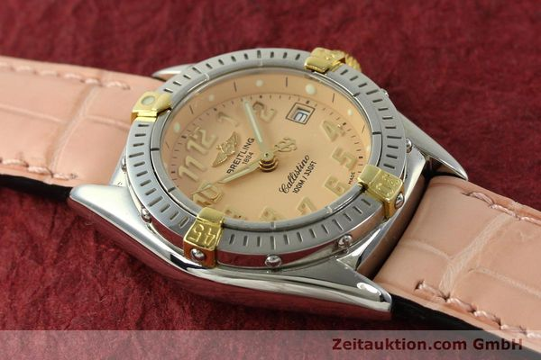 Used luxury watch Breitling Callistino steel / gold quartz Kal. B52 Ref. B52345  | 150496 13