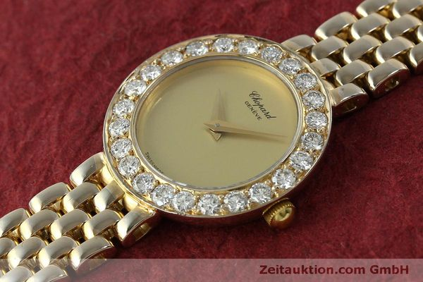 montre de luxe d occasion Chopard * or 18 ct quartz Kal. 608 Ref. 4067  | 150498 01