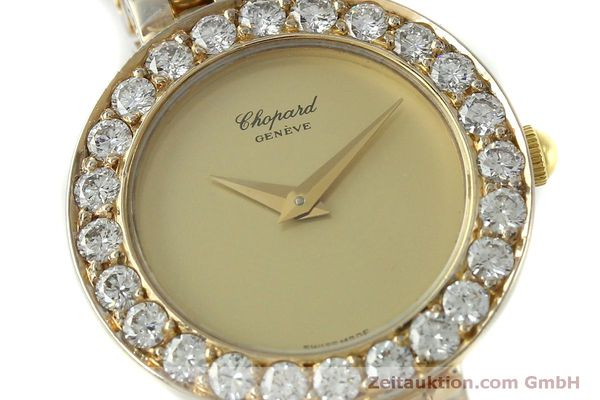 montre de luxe d occasion Chopard * or 18 ct quartz Kal. 608 Ref. 4067  | 150498 02