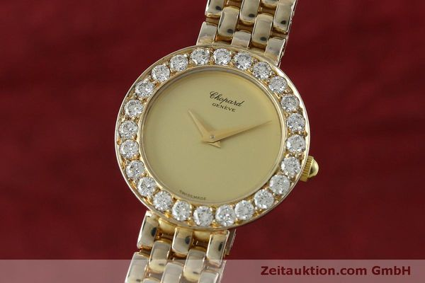 montre de luxe d occasion Chopard * or 18 ct quartz Kal. 608 Ref. 4067  | 150498 04
