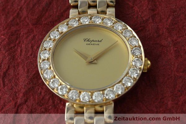 montre de luxe d occasion Chopard * or 18 ct quartz Kal. 608 Ref. 4067  | 150498 16