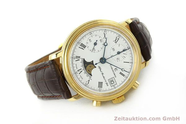 Used luxury watch Chronoswiss A. Rochat chronograph gold-plated manual winding Kal. Valj. 7768  | 150501 03