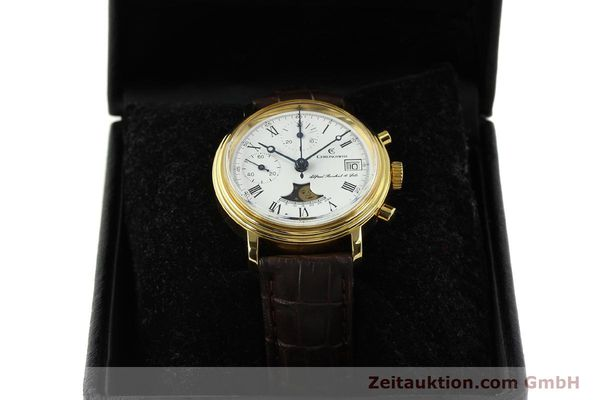 Used luxury watch Chronoswiss A. Rochat chronograph gold-plated manual winding Kal. Valj. 7768  | 150501 07