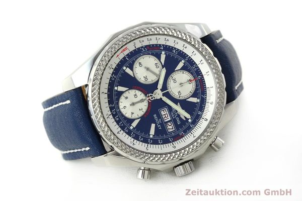 Used luxury watch Breitling Bentley chronograph steel automatic Kal. B13 ETA 7750 Ref. A13362  | 150508 03